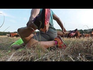 S E joggerin im wald gefickt und komplett vollgespritzt riesen ladung