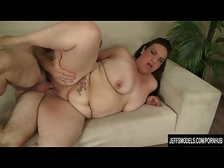 Horny Mexican plumper angelina gets fucked hard