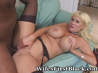 First experience fucking big black cock