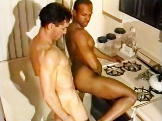 Glory holes 2 white men black cocks scene 6