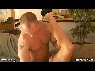 Lustful married male john magnum getting fucked hard by gay rod daily