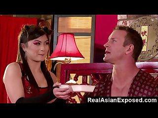 RealAsianExposed - Pretty Asian doll delivers the ultimate delight