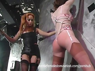 Brave slave girl proves to be a great slave
