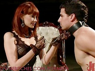 Slave gets destroyed by maitresse madeline