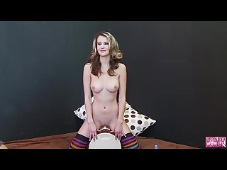 Ptricia rides sybian in socks