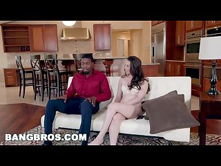 BANGBROS - Casey Calvert Takes a Big Black Dick on Monsters of Cock!