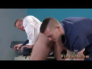 Fisting gay hardcore brian bonds stops in to see his doctor about his