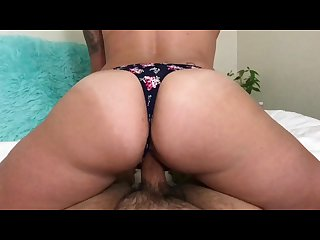 Impregnated my stepmom gets a deep creampie in her tight pussy