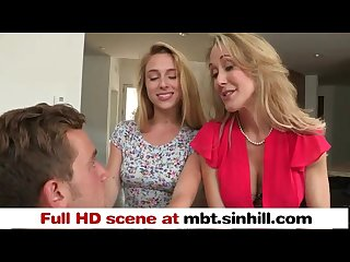 Big tit blonde mom teaches her teen daughter to bang mbt sinhill com