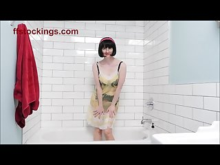 Matures lingerie shower