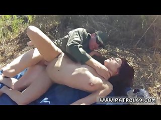 Fat mature redhead first time oficer of patrol agrees to help redhaired