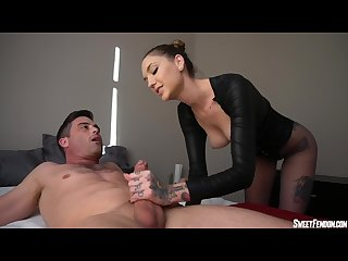 Sensual Edging with Hands and Pussy PANTYHOSE FEMDOM