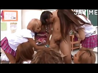 Tan gyaru teacher gets the treatment