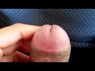 Public masturbation in car till i cum like hell