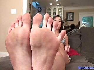 Closeup japanese feet