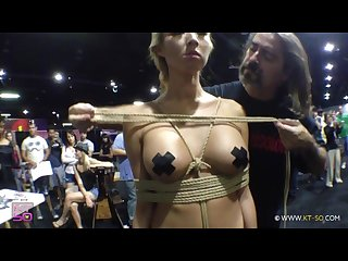 Public bondage binding