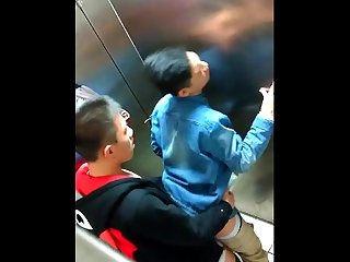 Ooops asian boys caught in school bathroom fucking