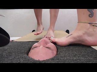 Facebox foot gagging 2 brattyfootgirls com