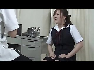 Japanese girl fucked hard by doctor
