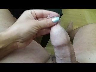 Handjob Small penis Ex GF