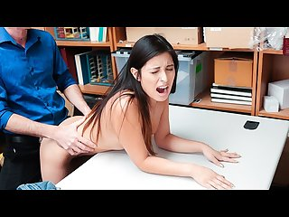 ShopLyfter - Price Swapping Teen Saves Her Job By Fucking
