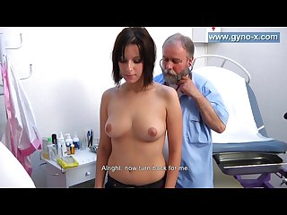 Laura s full body gyno examination by old gynecologist