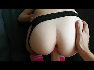 Tight Amateur Gets A Cum Explosion POV
