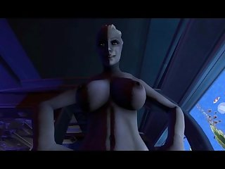 Liara fucks shepard mass effect
