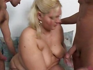 German Ssbbw gets fucked after nursing guys wounds