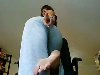 Feet and ass pov worship