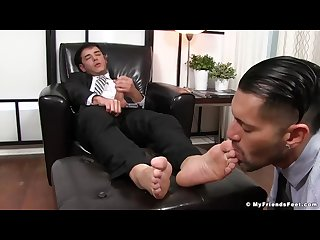 Alex and rego enjoy free time with feet fetish and jerking