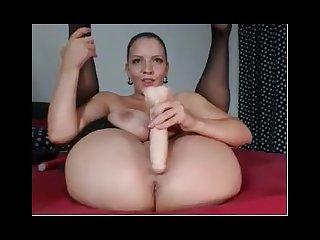 Big busty webcam