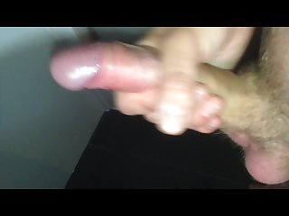 Pissing with my erection while playing with my dick
