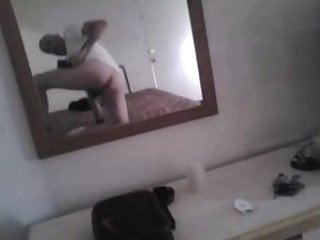 Masc btm shows off ass in hopes of gang bang