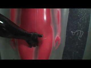 Japanes latex catsuit 9