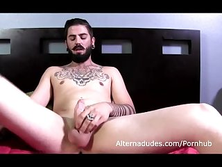 Uncut tatted hipster