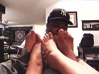 Bbw foot worship