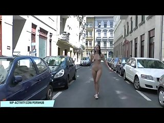 Aiko may shows her naked sexy body on public streets
