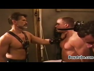 Muscle bondage four play