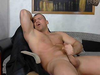 Bulgarian bodybuilder moaning