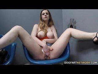 Stella cox getting bbc anal gloryhole
