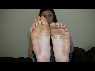 Large asian feet yum