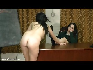 Slut slave girl worship her goddes teacher sexy flat