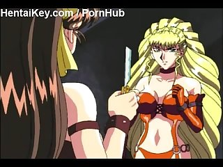 Lesbian hentai slave