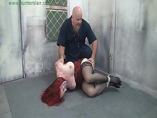Redhead kidnapped and stuff gagged