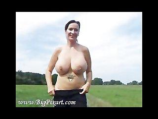 Alessina enjoys jogging