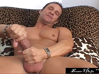 Jack lawrence big dick solo