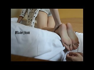 Chinese student feet Tickling 2