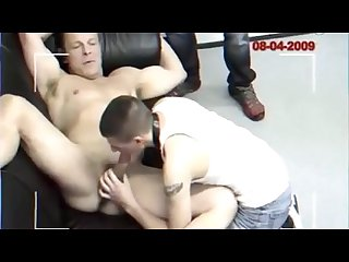 Twinkparolee fucked bareback at the police station