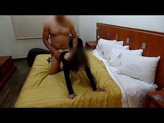 Ama de casa en celo Cogida en Motel mientras dice Que es Puta